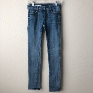 Anthro Pilcro and the Letterpress Skinny Jeans 25